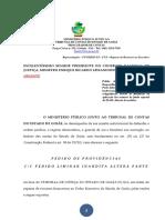 Representação Ao CNJ - Pedido de Providências - Petição Inicial - TJ-GO - FUNDESP - Princípio Da Colegialidade - Desvio de Finalidade