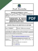PRE 15 2017 - Edital Assinado