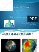 Coordinate Systems and Georeferencing