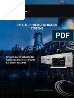 on site power generation