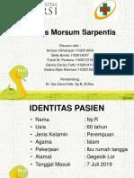 vulnus morsum sarpentis.ppt
