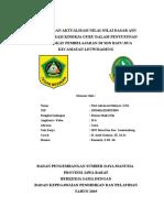 Rancangan Aktualisasi Fitri Asbawati Hidayat