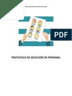 Protocolo de Selección de Personal