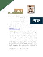 Jal&Iaws Instrucciones Autores y Manual de Estilo