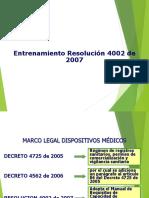 Presentacion Resolución 4002 de 2007