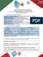 Guía de Actividades y Rúbrica de Evaluación - Fase 1 - Elaborar Una Reflexión Para Identificar y Evaluar Un Problema
