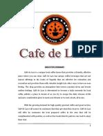 Cafe de Lacs Finals