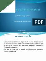 diapositvas de interes simple y compuesto
