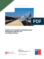Analisis de Los Consumos Energeticos Para Aplicaciones CSP CST y PV en Mineria Chilena