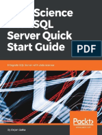 Data science Sql server quick start