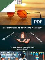 Generación de Ideas de Negocio 2019-II