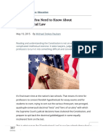 Everything You Need to Know About Constitutional Law - Public Discourse