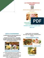 Gastronomia (Yo Soy Bien Peruano)