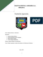 Informe n°1  QUIMICA GENERAL