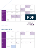 Calendario Sazonal 2017 Para Imprimir