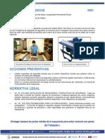 1 Corte de Dedos Con Sierra de Banco