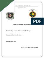 Geologia Unan-Managua