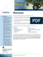 2017 MOTORCYCLISTS Traffic Safety Fact Sheet