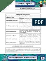 1-IE Evidencia 1 Flujograma Procesos de La Cadena Logistica y El Marco Estrategico Institucional