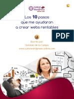 Diez paso para crear webs rentables