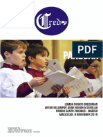Panduan Lomba Nyanyi Gregorian Anak 2019