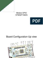 Modulo GPIO STM32F7
