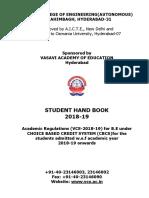 Handbook BE 2018 19