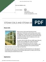 Steam Coils and Steam Air Heaters – Delta