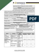 PSID Diplomado Social - EC 2018-21