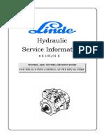 Service Information E10501 E 11.01 C