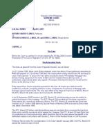 Arturo Flores v. Spouses LindoG.R. No. 183984, 13 April 2011