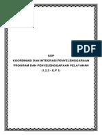 1A E.P 1 COVER SOP KOORDINASI DAN INTEGRASI PENYELENGGARAAN PROGRAM DAN PELAYANAN.docx
