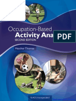 Heather's Occupation-Based Activity Analysis (2nd Edition)