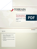 Selecting Locations - Changing Requirement and Decision Drivers_Terrain 2012