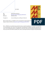 The vector potential of a point magnetic dipole