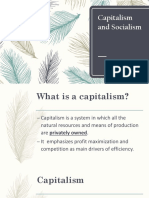 Capitalism and Socialism Report