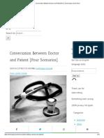 Conversation Between Doctor and Patient [Four Scenarios] _ Lemon Grad.pdf