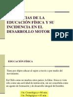 Epistemológica Ed. Física y Desarrollo Motor