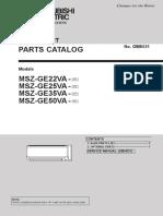 Mitsubishi Electric Heat Pump Parts Indoor MSZ-GE22-50VA-A1.pdf