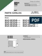 Mitsubishi Electric Heat Pump Parts Outdoor MUZ-GE25-80VA-A1_OBB532C.pdf