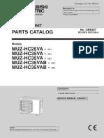 Mitsubishi Electric Heat Pump Parts Outdoor MUZ-HC25-35VA.pdf