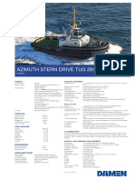 Product Sheet Damen ASD Tug 2813 Stock