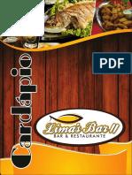 Limas Bar Cardapio Limas Bar 2016