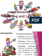 PSE2 the Learner 8-23-16