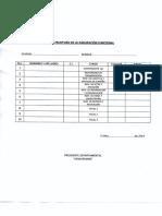 Estructura Agrupación Funcional