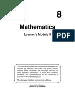 Mathematics Learning Module 9