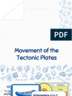 Movement of Tectonic Plates