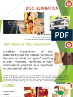 Classical Disc Herniation by Dr Anupreet Bassi