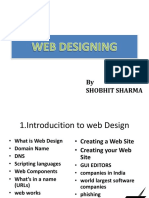 PPT - 1 Basics of Web Design