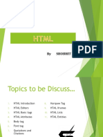 Ppt - 3 Basics of HTML